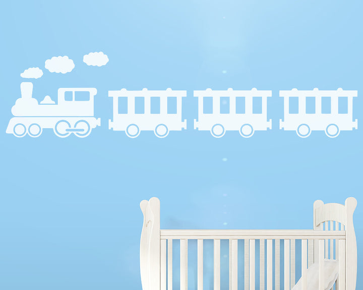 Railway Train Decal Vinyl Wall Sticker