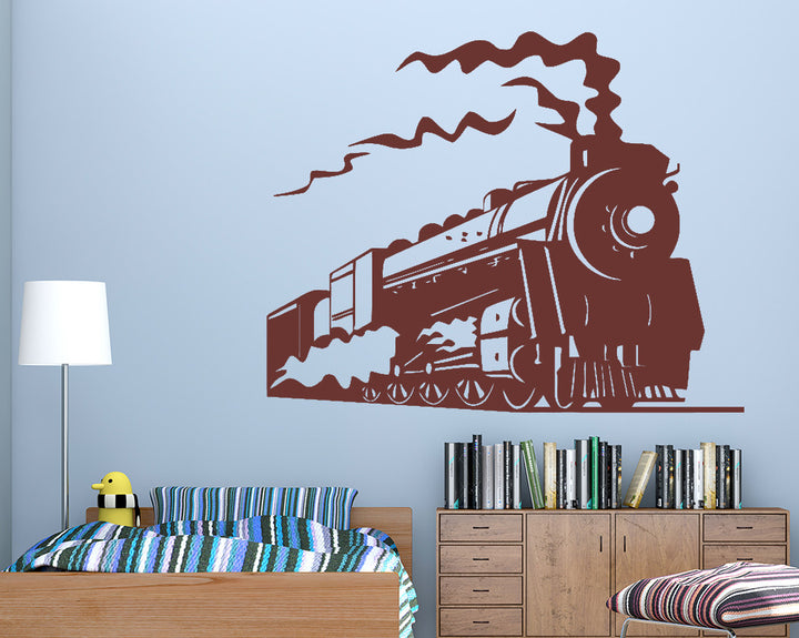 Train Transport Decal Vinyl Wall Sticker