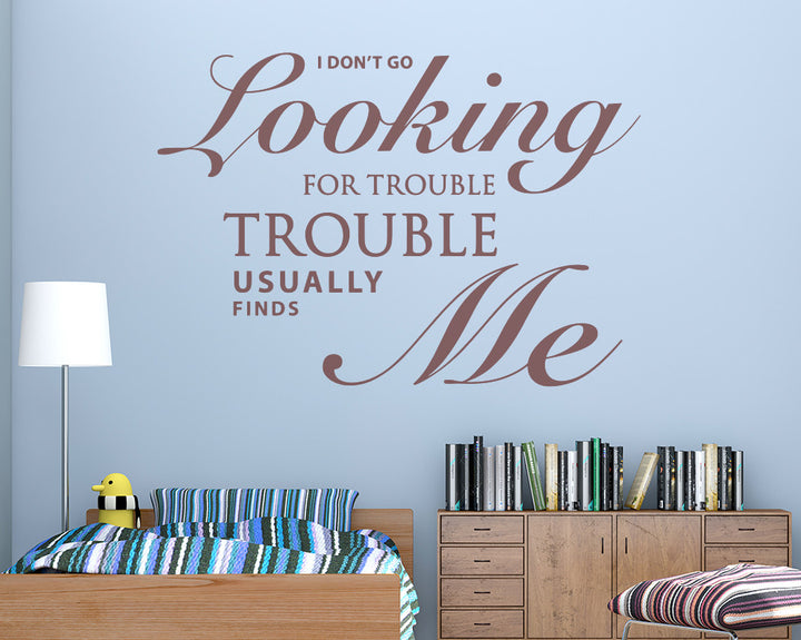 Trouble Maker Decal Vinyl Wall Sticker