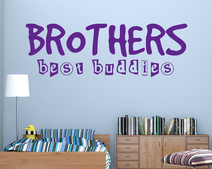 Brother Best Buddies Decal Vinyl Wall Sticker