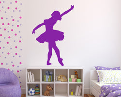 Ballerina Tutu Decal Vinyl Wall Sticker