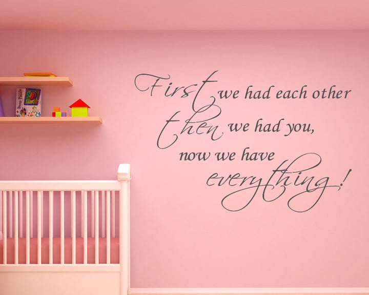 Family Everything Cute Decal Vinyl Wall Sticker