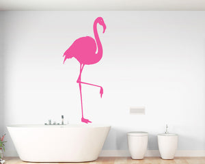 Flamingo Bird Decal Vinyl Wall Sticker