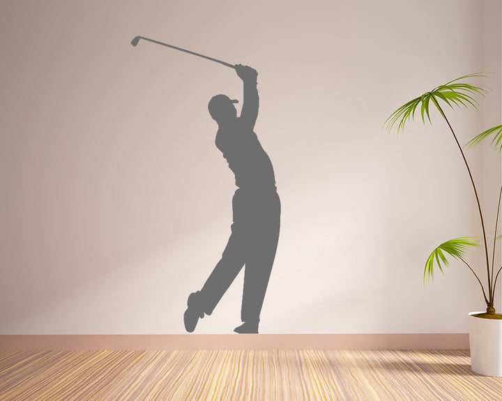 Golf Sport Hobby Decal Vinyl Wall Sticker