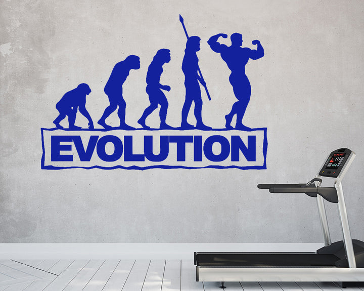 Strong Man Revolution Decal Vinyl Wall Sticker