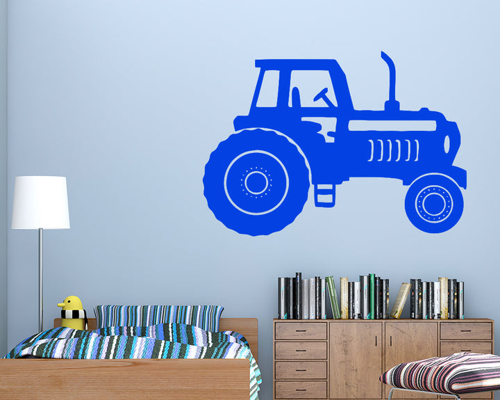 Tractor Farm Vehicle Decal Vinyl Wall Sticker