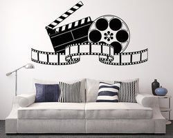 Cinema Movie Film Decal Vinyl Wall Sticker