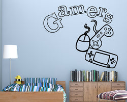 Game Console Technology Decal Vinyl Wall Sticker