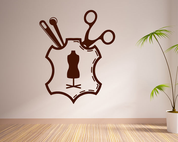 Business Leather Fashion Decal Vinyl Wall Sticker