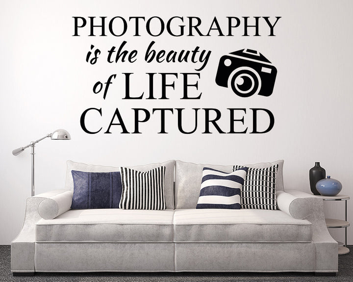 Photography Beauty Of Life Decal Vinyl Wall Sticker