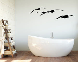 Seagull Bird Decal Vinyl Wall Sticker