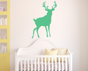 Deer Woodland Animal Decal Vinyl Wall Sticker
