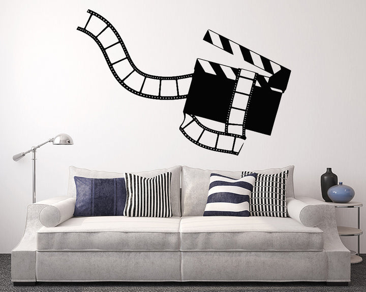 Cinema Film Action Decal Vinyl Wall Sticker
