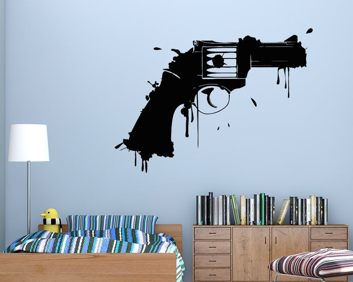 Shotgun Splash Decal Vinyl Wall Sticker