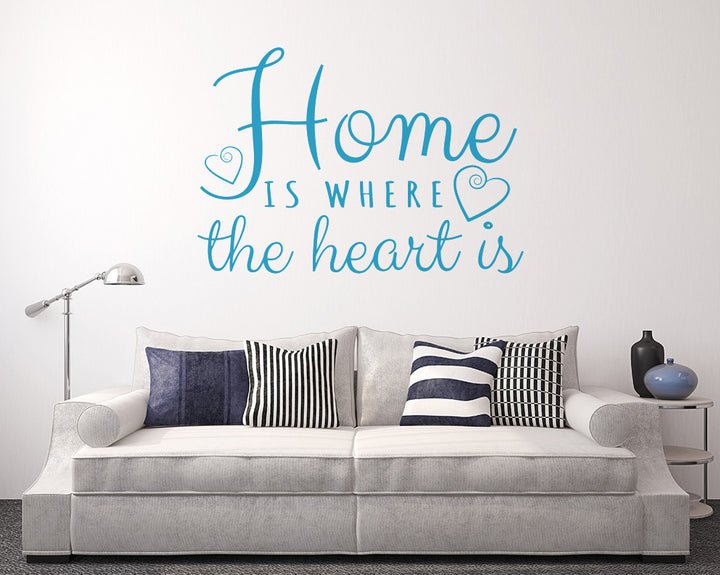 Home Heart Love Decal Vinyl Wall Sticker