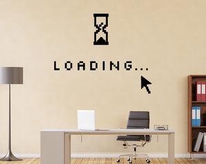 Loading Computer Decal Vinyl Wall Sticker