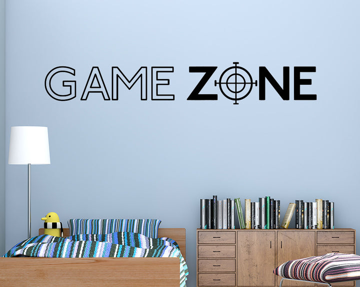Game Zone Target Decal Vinyl Wall Sticker