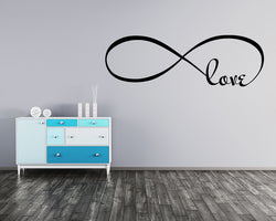 Love Infinity Always Decal Vinyl Wall Sticker
