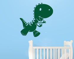 Cute Baby Dinosaur Decal Vinyl Wall Sticker