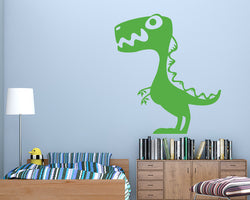 Cool Cartoon Dinosaur Decal Vinyl Wall Sticker