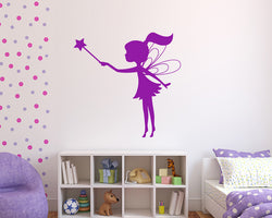 Fairy Star Wand Decal Vinyl Wall Sticker