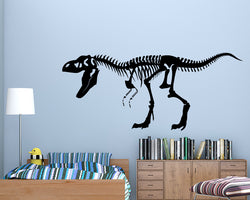 Dinosaur Skeleton Bones Decal Vinyl Wall Sticker
