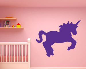 Cute Cartoon Unicorn Decal Vinyl Wall Sticker