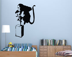 Monkey Dynamite Decal Vinyl Wall Sticker