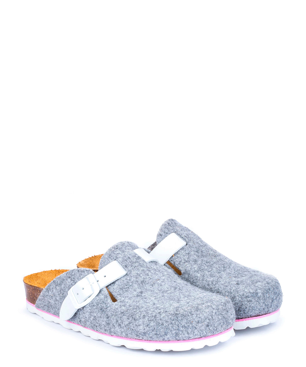 SLIPPERS GREY