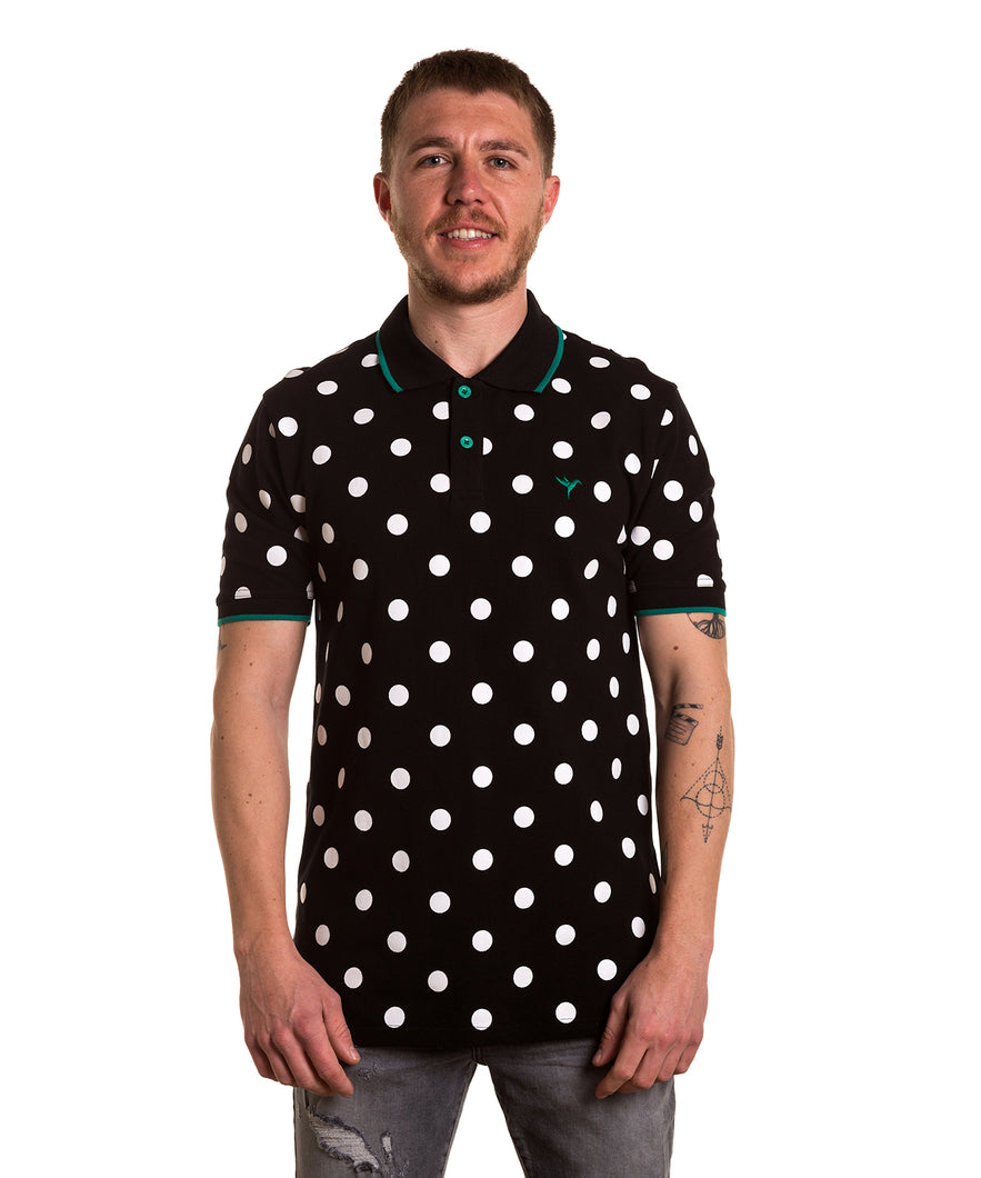 POLO ESTAMPADO WORMHOLE