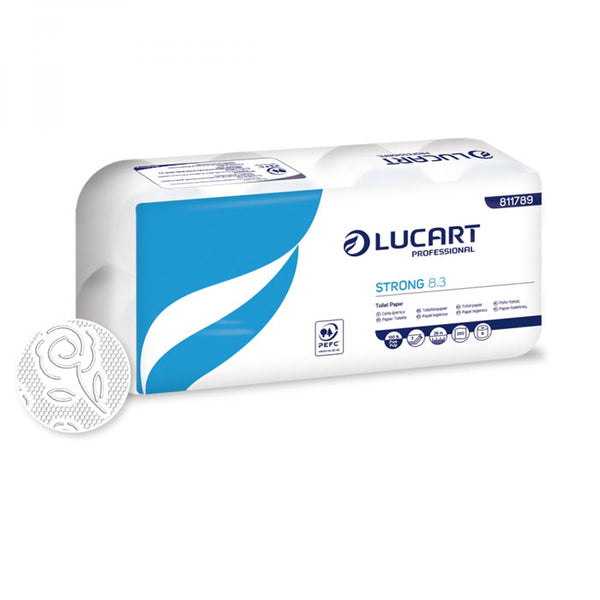 Lucart Professional Strong 8.3 WC papír, 3 réteg - 8 db