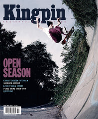 Mark Baines Kingpin Magazine Cover shot by Alex Burrell