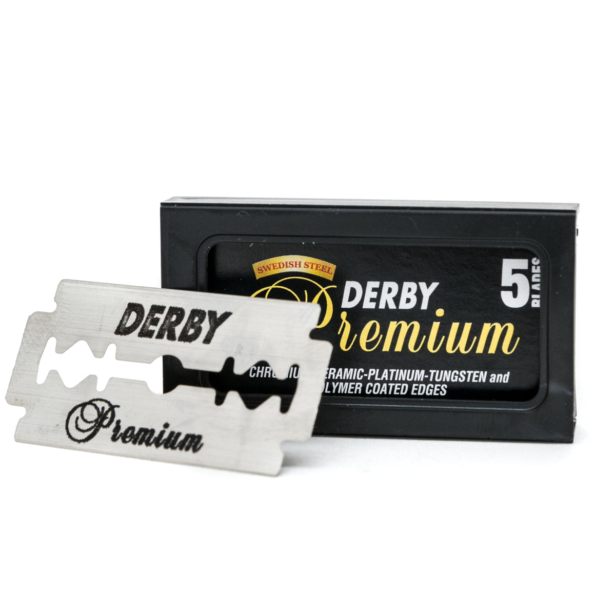 DERBY 5-PACK SAFETY BLADES