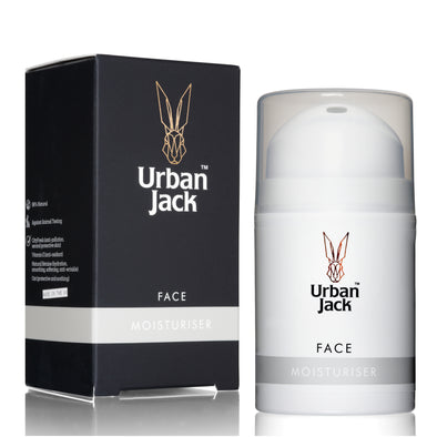 Urban Jack Face Moisturiser 50ml with Box