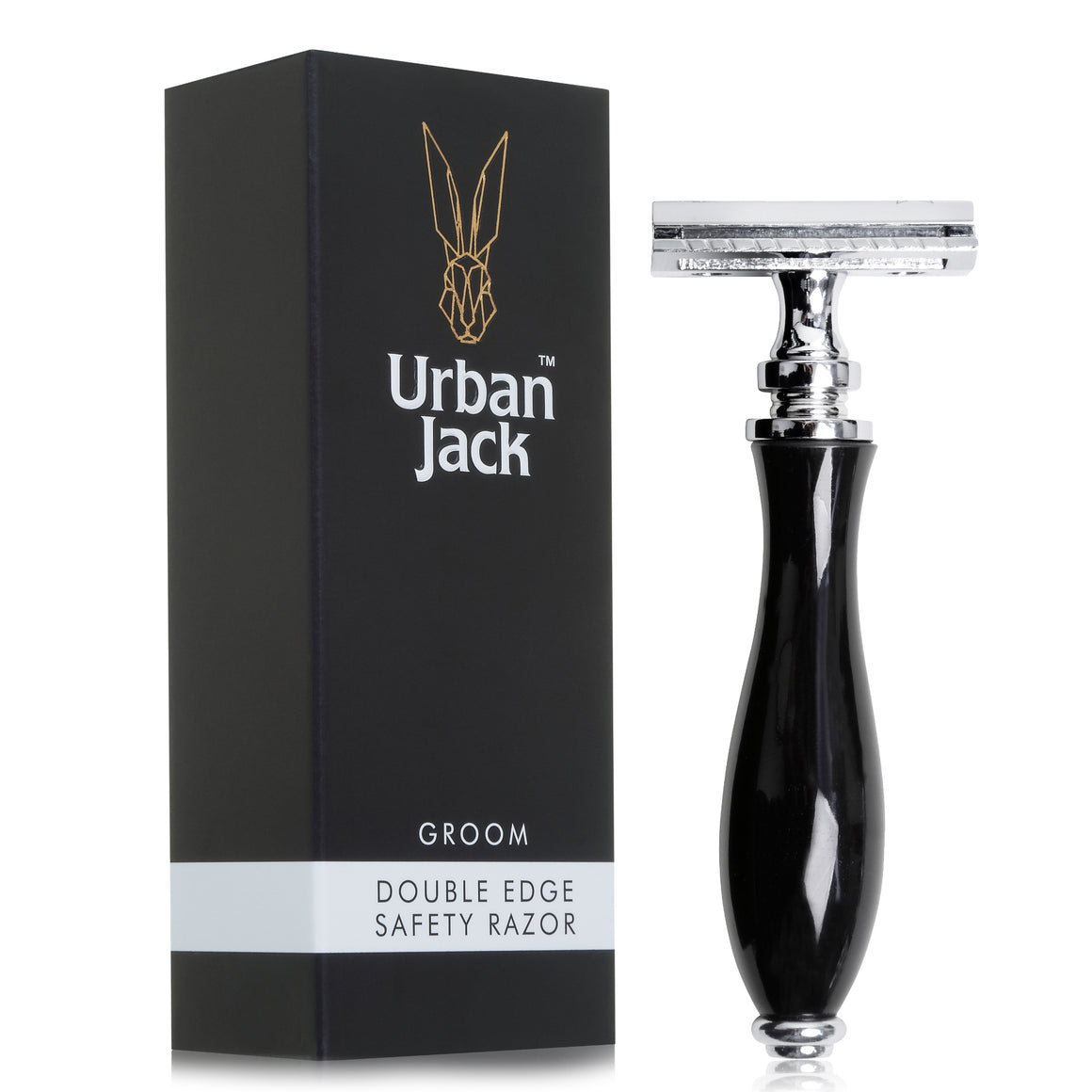 Urban Jack Groom Double Edged Safety Razor with Box