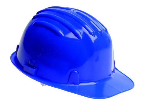 Safety Helmet Hard Hat - Blue (Conforms to EN397)