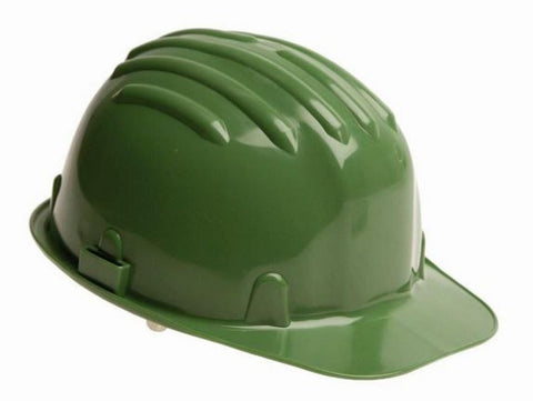 Safety Helmet Hard Hat - Green - Box of 24 (Conforms to EN397)