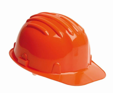 Safety Helmet Hard Hat - Orange (Conforms to EN397)