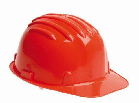 Safety Helmet Hard Hat - Red (Conforms to EN397)