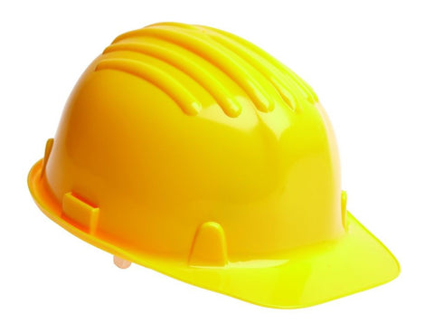 Safety Helmet Hard Hat - Yellow (Conforms to EN397)