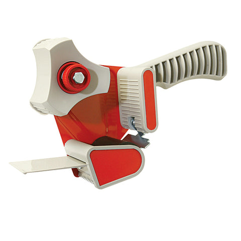 Packing Tape Dispenser Gun -  Lightweight plastic and steel pistol-grip dispenser - Accepts 50mm x 66m tapes