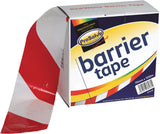 Non-Adhesive Barrier Tape Red & White - 70mm x 500m