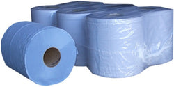 Centrefeed Rolls 2ply Blue - 150m - 6 Pack
