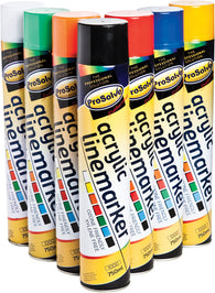 Line Marking Aerosol Spray Paint Yellow 750ml