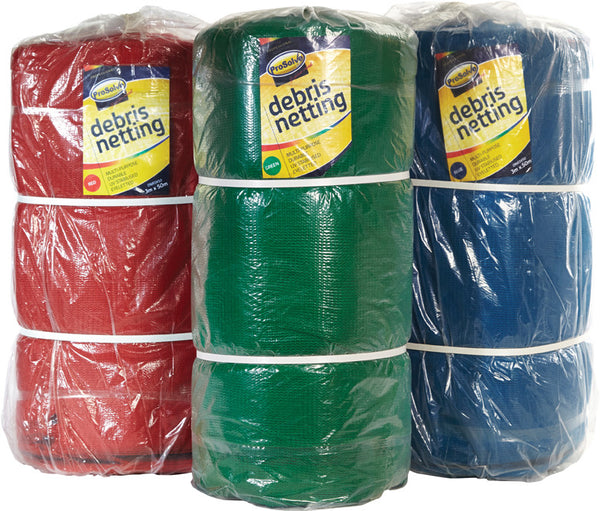Heavy Duty Blue Debris Netting - 2m x 50m