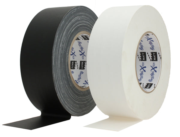 MagTape® Xtra™ Matt White Gaffer Tape - 50mm x 50m