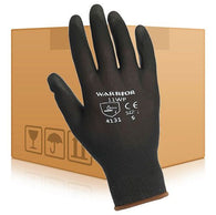 PU Coated Gloves - Black (Box 240 Pairs)