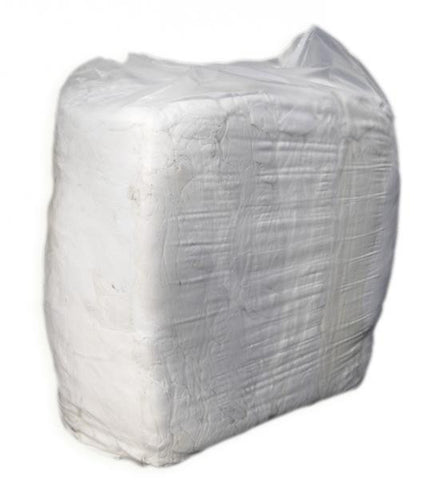 White Cotton Rags - 10kg