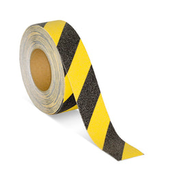 Anti Slip Tape - Black & Yellow - 25mm x 20m