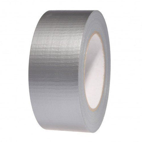 Silver Gaffer Tape (Duct / Cloth) 48mm x 50m - Asbestos Removal Tape